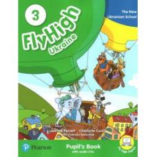 Учебник  Fly High Ukraine 3 Pupil's Book + Audio CD
