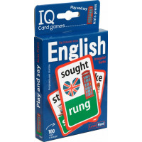 Умные игры с картами. Английские неправильные глаголы. Уровень2. Синий
