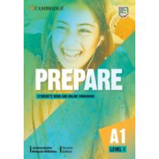 Учебник Cambridge English Prepare! 2nd Edition 1 Student's Book with Online Workbook
