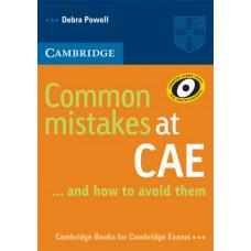 Учебник английского языка Common Mistakes at CAE and how to avoid them Paperback