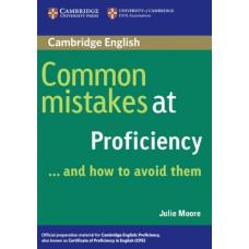 Учебник английского языка Common Mistakes at Proficiency and how to avoid them Paperback