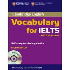 Учебник английского языка Cambridge Vocabulary for IELTS Book with answers and Audio CD