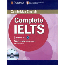 Рабочая тетрадь Complete IELTS Bands 5-6.5 Workbook with Answers with Audio CD