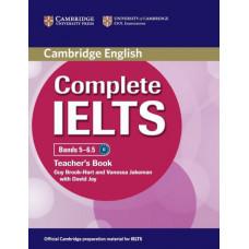 Книга для учителя Complete IELTS Bands 5-6.5 Teacher's Book