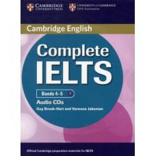 Диски Complete IELTS Bands 4-5 Class Audio CDs (2)