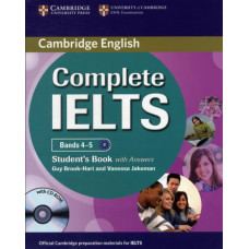 Учебник английского языка Complete IELTS Bands 4-5 Student's Book with Answers with CD-ROM