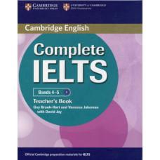 Книга для учителя Complete IELTS Bands 4-5 Teacher's Book