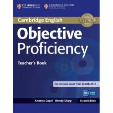 Книга для учителя Objective Proficiency Second edition Teacher's Book
