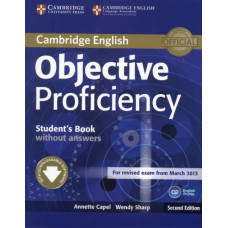 Учебник английского языка Objective Proficiency Second edition Student's Book without answers with Downloadable Software