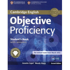Учебник английского языка Objective Proficiency Second edition Student's Book with answers with Downloadable Software