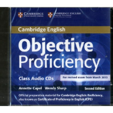 Диски Objective Proficiency Second edition Class Audio CDs (3)