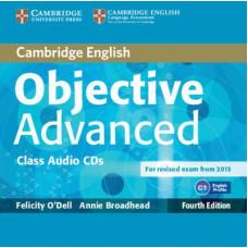 Диски Objective Advanced Fourth edition Class Audio CDs (2)