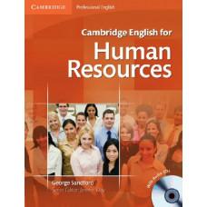 Учебник Cambridge English for Human Resources
