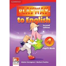 Учебник Playway to English 2nd Edition 4 Pupil's Book