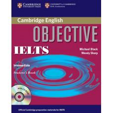 Учебник английского языка Objective IELTS Intermediate Student's Book without answers with CD-ROM