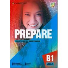 Учебник Cambridge English Prepare! 2nd Edition 5 Student's Book with Online Workbook