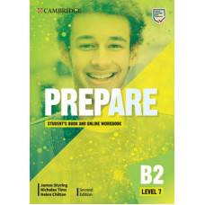 Учебник Cambridge English Prepare! 2nd Edition 7  Student's Book with Online Workbook