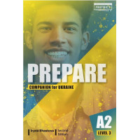 Cambridge English Prepare! 2nd Edition 3 Companion for Ukraine