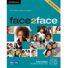 Учебник английского языка Face2face Second edition Intermediate Student's Book with DVD-ROM and Online Workbook Pack