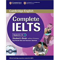 Учебник английского языка Complete IELTS Bands 6.5-7.5 Student's Book without answers with CD-ROM