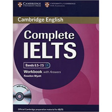 Рабочая тетрадь Complete IELTS Bands 6.5-7.5 Workbook with answers with Audio CD