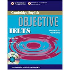 Учебник английского языка Objective IELTS Intermediate Student's Book with answers and CD-ROM