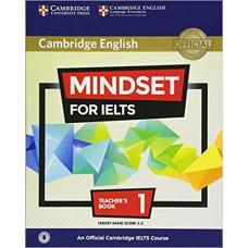 Книга для учителя Mindset for IELTS Level 1 Teacher's Book with Downloadable Audio