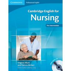 Учебник Cambridge English for Nursing Pre-Intermediate