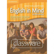 Диск English in Mind Starter 2nd Edition Classware DVD-ROM