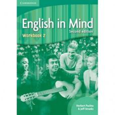 Рабочая тетрадь English in Mind 2 2nd Edition Workbook