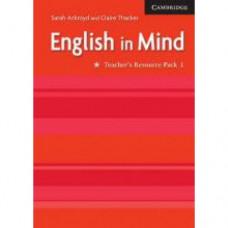 Книга для учителя English in Mind 1 2nd Edition Teacher's Resource Book