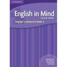 Книга для учителя English in Mind 3 2nd Edition Teacher's Resource Book