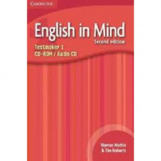 Диск English in Mind 1 2nd Edition Testmaker Audio CD/CD-ROM