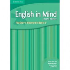 Книга для учителя English in Mind 2 2nd Edition Teacher's Resource Book