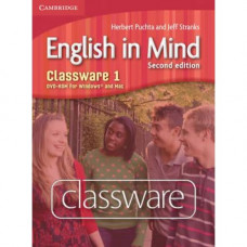 Диск English in Mind 1 2nd Edition Classware DVD-ROM