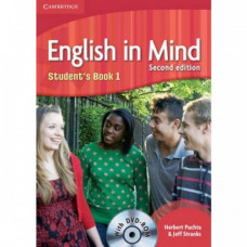 Учебник английского языка English in Mind 1 2nd Edition Student's Book with DVD-ROM