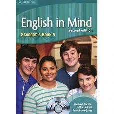 Учебник английского языка English in Mind 4 2nd Edition Student's Book with DVD-ROM