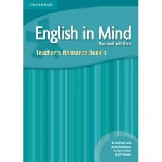 Книга для учителя English in Mind 4 2nd Edition Teacher's Resource Book
