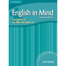 Диск English in Mind 4 2nd Edition Testmaker Audio CD/CD-ROM