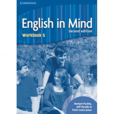 Рабочая тетрадь English in Mind 5 2nd Edition Workbook