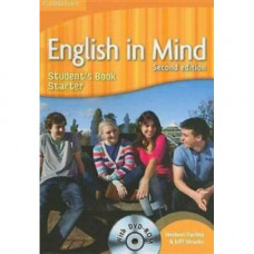 Учебник английского языка English in Mind Starter 2nd Edition Student's Book with DVD-ROM