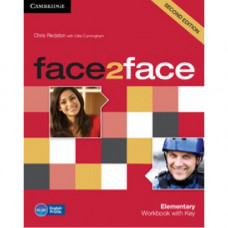 Рабочая тетрадь Face2face Second edition Elementary Workbook with Key