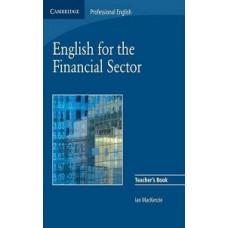 Книга для учителя  English for Financial Sector Teacher's Book