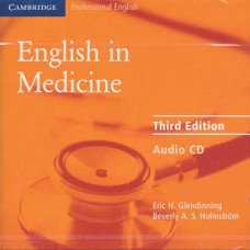 Диски English in Medicine Third Edition Class Audio CDs