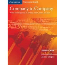Учебник Company to Company Student's Book
