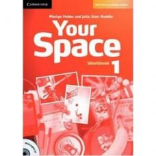 Рабочая тетрадь Your Space Level 1 Workbook with Audio CD