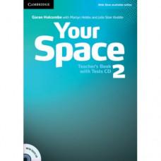 Книга для учителя Your Space Level 2 Teacher's Book with Tests CD