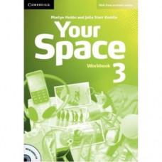 Рабочая тетрадь Your Space Level 3 Workbook with Audio CD