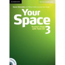 Книга для учителя Your Space Level 3 Teacher's Book with Tests CD