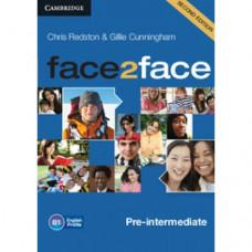 Диски Face2face Second edition Pre-intermediate Class Audio CDs (3)